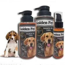 Salmon Fish Oil for Dog & Cat Shiny Coat Reduce Hair Loss Inflammation 120,500ml