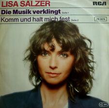 """7"""" 1981 rare dans MINT -! Lisa salzer la musique douce"""