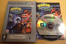 CRASH BANDICOOT THE WRATH OF CORTEX for PS2 SONY PLAYSTATION 2 COMPLETE