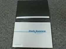2004 Buick Park Avenue Sedan Owner Owner's Manual User Guide Ultra 3.8L V6
