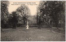 CPA 92 - BOULOGNE (Hauts de Seine) - Ecole Diocésaine Notre-Dame Vierge du Parc