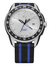 """original Mercedes Benz Uhr Armband uhr für Herren """" Sportive Young """" GMT NEU TOP"""