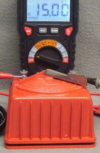 LIONEL#4050 TRANSFORMER 50 WATTS W/CIRCUIT BREAKER-CLEANED-RUNS ONE TRAIN-EX++CD