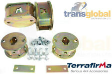 """Land Rover Discovery 2 Front & Rear Spring 2"""" Spacer Lift Kit Terrafirma TF525/6"""