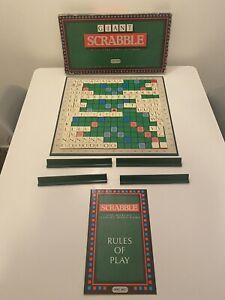 Vintage Giant Scrabble - 100% Complete, 1990 with instructions. Large Letters