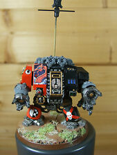 BEAUTIFUL BLOOD ANGELS SPACE MARINE DREADNOUGHT WELL PAINTED (L)
