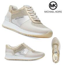 Zapatos De Cuero señoras Allie entrenador Michael Kors Tenis