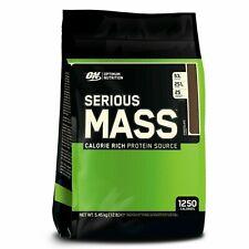 Optimum Nutrition gainer serious mass Gain de Poid Protéine 2.7kg/5.4kg + Shaker