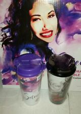 Stripes Limited Edition Selena Quintanilla Commemorative Collector's Cups set 2