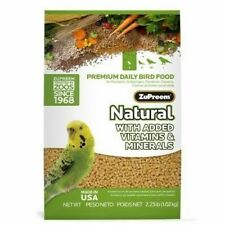 ZuPreem Natural Premium Daily Bird Food w/Vitamins & Minerals Small Birds