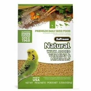 ZuPreem Natural Premium Daily Bird Food w/Vitamins & Minerals Small Birds
