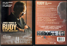 DVD James Woods RUDY (Giuliani Story) + Day The Towers Fell NYC WS+FS TV R1 OOP
