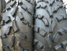 TWO 25/8.00-12,25/8.00x12,25x8x12 ATV Carlisle AT 489 Four Wheeler Tires