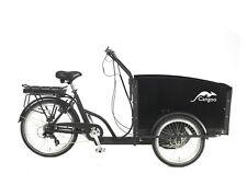 470 Wh NEU Cangoo Groovy Elektro Lastenrad 4 Sitzplätze schwarz HYDR. disc brake