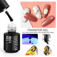 7ML Nail Art Transfer Gel Polish Nail Foil Adhesive Glue Starry Sky Sticker