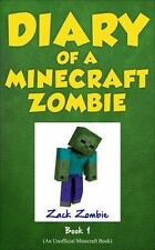 Diary of a Minecraft Zombie Book 1: A Scare of A Dare Volume 1