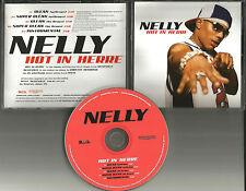 """NELLY """"HOT IN HERRE""""  DJ PROMO CD Single Mint 2002 5 trk"""