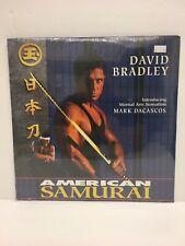 American Samurai Laserdisc, David Bradley, Sealed