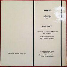Jeanne Loriod Lily Laskine Andre Jolivet Concerto for Ondes Martenot MHS 1079