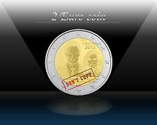 """LUXEMBOURG 2 EURO 2015 """"Grand Duke Henri Throne Accession"""" Commem. Coin * UNC"""