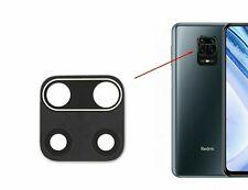 Lentille en verre + film adhésif pour Xiaomi Redmi Note 9 9S 9 PRO caméra photo