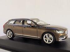 Volvo V90 familiar 2016 bronce Metálico coche modelo 1 43 / Norev