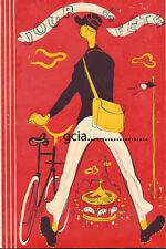 JOUR de FÊTE  -1949 - J.TATI - RARE dossier original - 2 DOUBLES PAGES