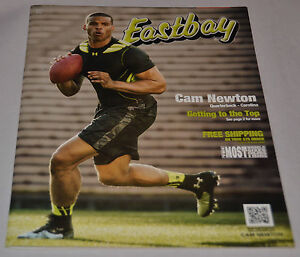 MINT! Eastbay Catalog CAM NEWTON Cover Carolina Panthers #1 Under Armor May 2013