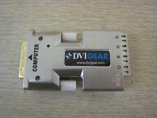 DVIGEAR DVI Gear DVI-7310-TX Single Link DVI Fiber Optic Extender Adapter Used