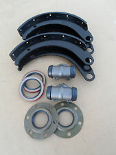 "WWII Dodge WC 1/2 ton 4x4 G505 New Rear Axle Brake 14"" shoes cylinders seal set"