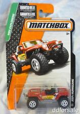 Jeep Hurricane 1:64 Scale From The MBX Explorers Series by Matchbox