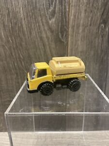 "Vintage 1976 Tonka 4"" Yellow Gas/Water Tanker Truck Japan"