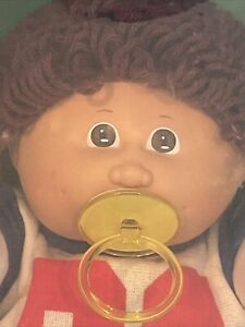 STUNNING Vintage CABBAGE PATCH KID 1984 Boy Pacifier NEVER REMOVED FROM BOX