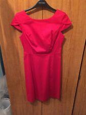 Dorothy Perkins Rojo Vestido Talla 8