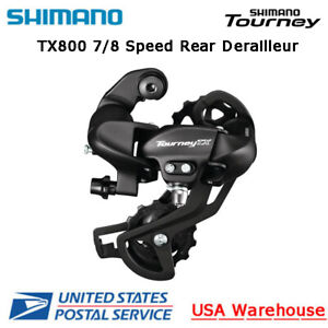 Shimano Tourney RD-TX800 7/8 Speed Direct Mount Rear Derailleur Long Cage MTB