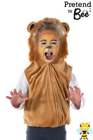 KIDS CHILDS GIRLS BOYS LION ZOO ANIMAL FANCY DRESS COSTUME OUTFIT AGE 3-4-5-6-7