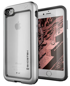 Rugged iPhone SE 2020, iPhone 7, iPhone 8 Case with Clear Tough Metal Bumper