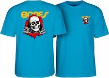 Powell Peralta BONES RIPPER Skateboard Shirt TURQUOISE XL