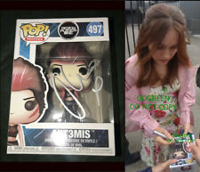 Olivia Cooke signed Art3mis Funko pop Vinyl Ready Player One photo proof poster