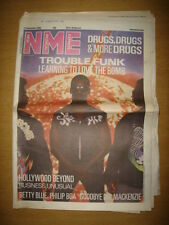 NME 1986 SEPTEMBER 27 TROUBLE FUNK HOLLYWOOD BEYOND SMITHS