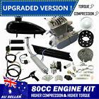 ?Upgraded !?80cc Motorised Bicycle Push Bike 2 Stroke Motor Engine Kit Petrol