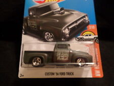 HW HOT WHEELS 2017 HW HOT TRUCKS #2/10 CUSTOM '56 FORD TRUCK HOTWHEELS GRN VHTF