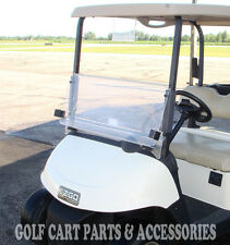EZGO RXV Clear Windshield 2008-UP Folding Style  *New In Box Golf Cart Part*