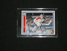 MARTIN BRODEUR 1990-1991 7TH INNING SKETCH QMJHL RC CARD MINT NEW JERSEY DEVILS