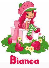 Strawberry Shortcake gift Iron-On T-Shirt Transfer w/FREE Personalization