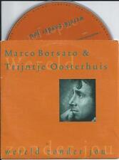 MARCO BORSATO & TRIJNTJE OOSTERHUIS - Wereld zonder jou CD SINGLE 2TR 1997