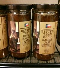 9 oz Better than good bacon jam lot of 2 free shipping! 2017