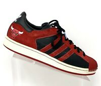 Adidas Mens Size 9 NBA Series Chicago Bulls Superstar 1 Shell Top Sneakers