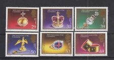 JERSEY MNH UMM STAMP SET 2003 SG 1099-1104 Coronation QEII 50th Anniversary