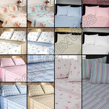 Flat Sheet Floral Bedding Sets & Duvet Covers